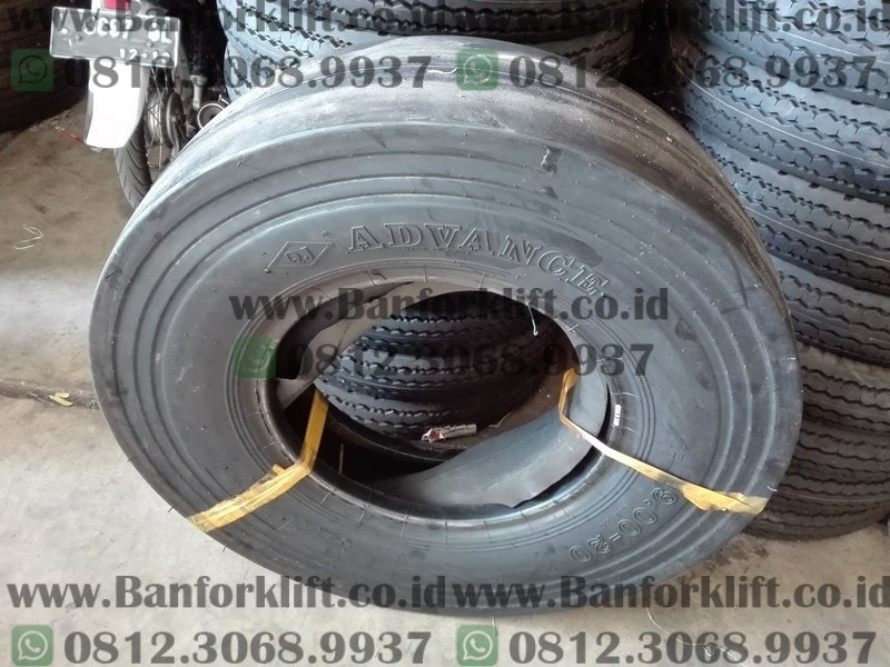 ban pneumatic tire roller advance