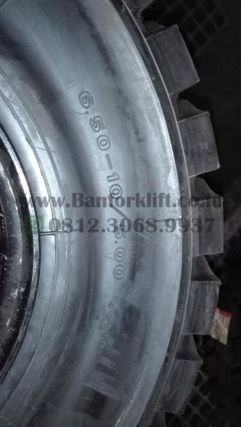 Ban Forklift Solid Bridgestone 6.50 - 10 untuk Forklift 3 ton