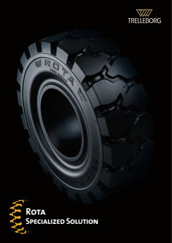 Ban Forklift Solid 2.00/50-10 merk ROTA
