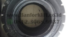 ban forklift solid armour