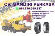 Jual Ban Mobil Crane, Supplier Ban Truk Crane, Ukuran – Harga Terbaik √