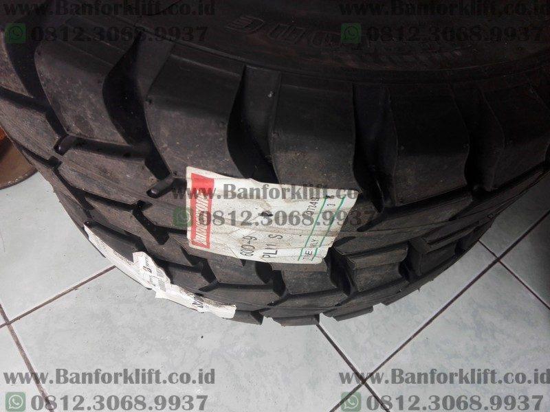 Ban Forklift Solid 6.00-9 Bridgestone