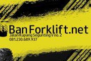 Ban Forklift Solid, Ban Mati, Ban Pejal, Ban Buta, 081230689937